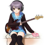 Tissue Hime Bass Playing