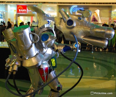 Cyberzone Cosplay at SM Marikina