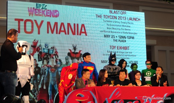 Blast-Off! ToyCon 2013 Launch Event