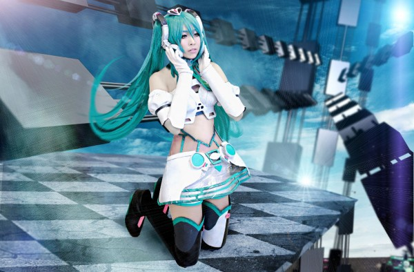 YukiGodbless as Miku Hatsune from Vocaloid
